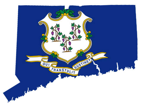 Connecticut state approved logo