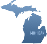 Michigan LARA approved pre-license logo